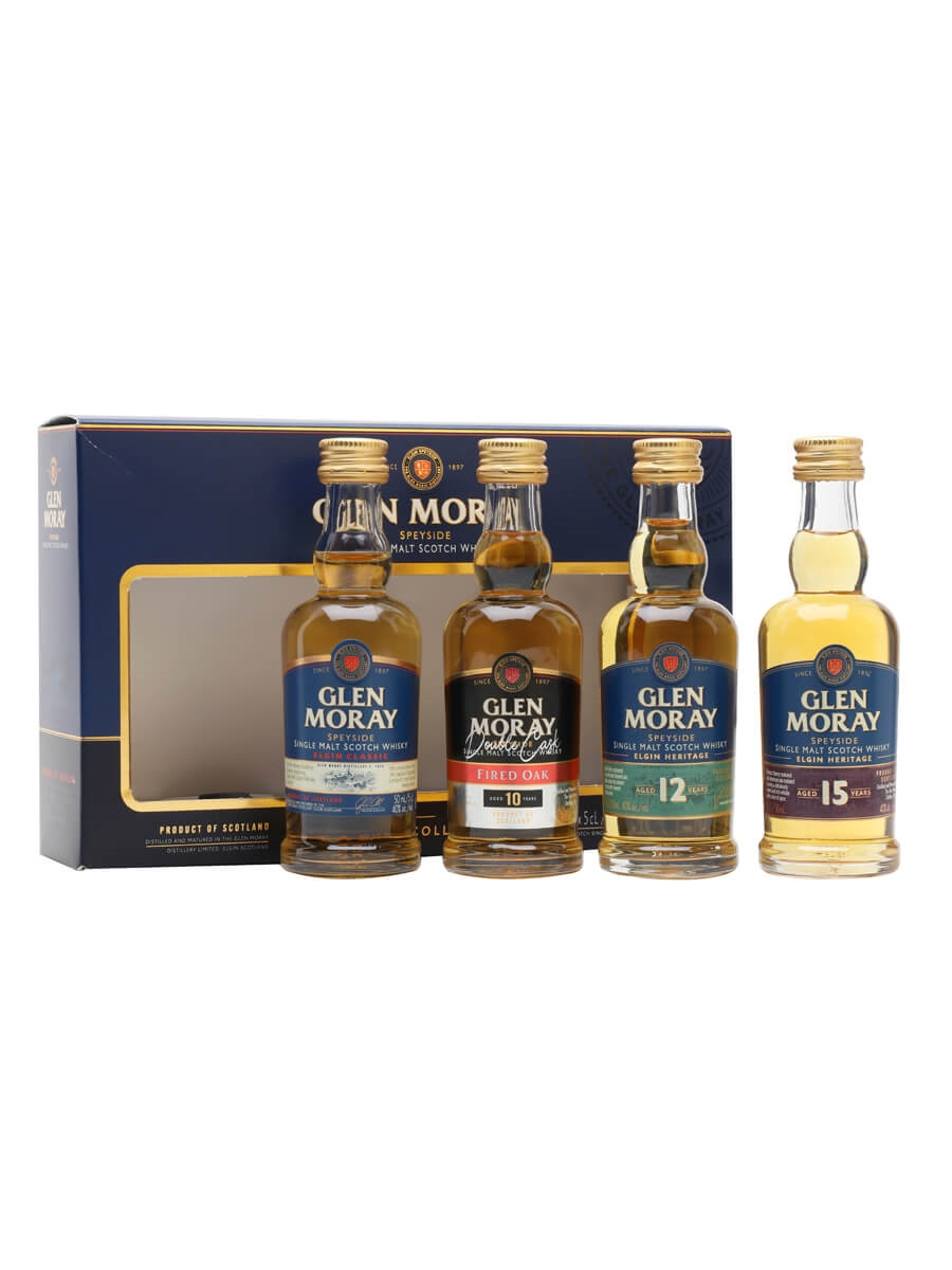 Glen Moray Heritage Range Miniature Gift Set / 4x5cl