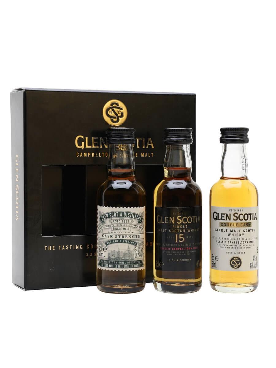 Glen Scotia Miniature Gift Pack / 3x5cl