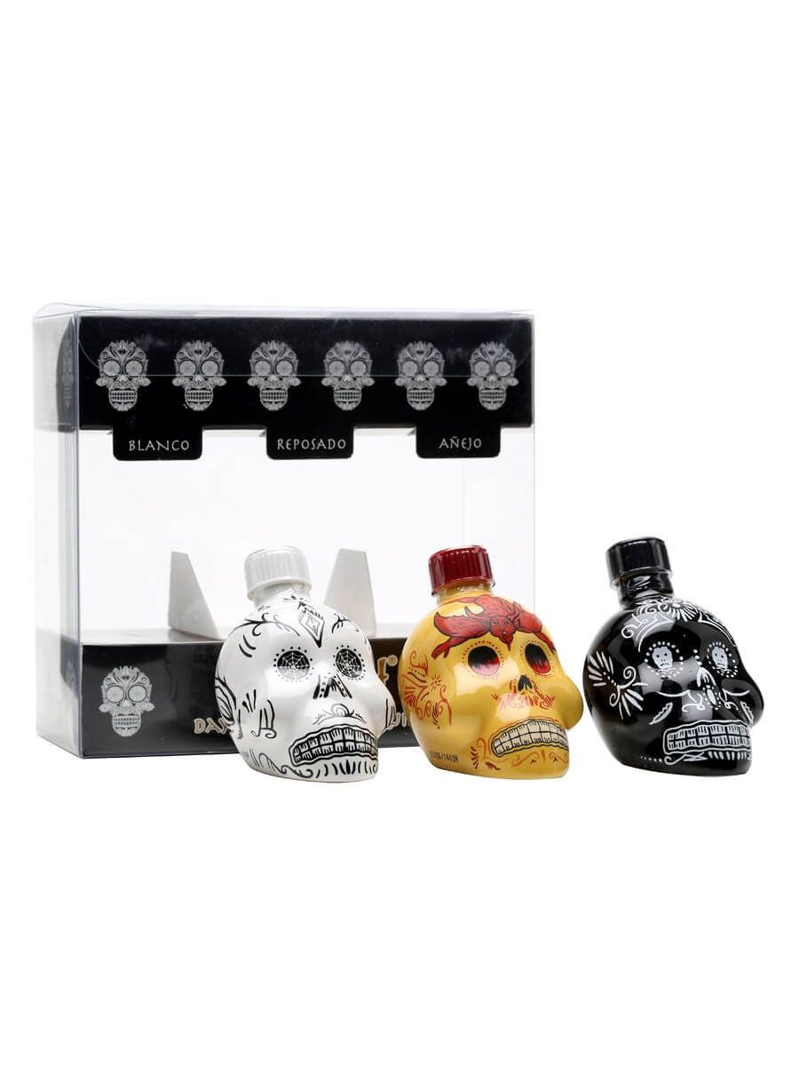 KAH Tequila Miniature Gift Set - 3x5cl : The Whisky Exchange