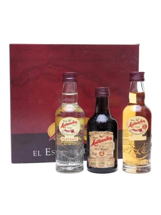 Matusalem Rum 3 pack Miniatures