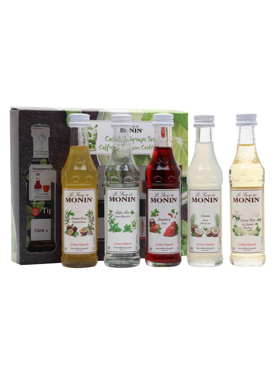Monin Cocktail Syrups Set / 5x5cl