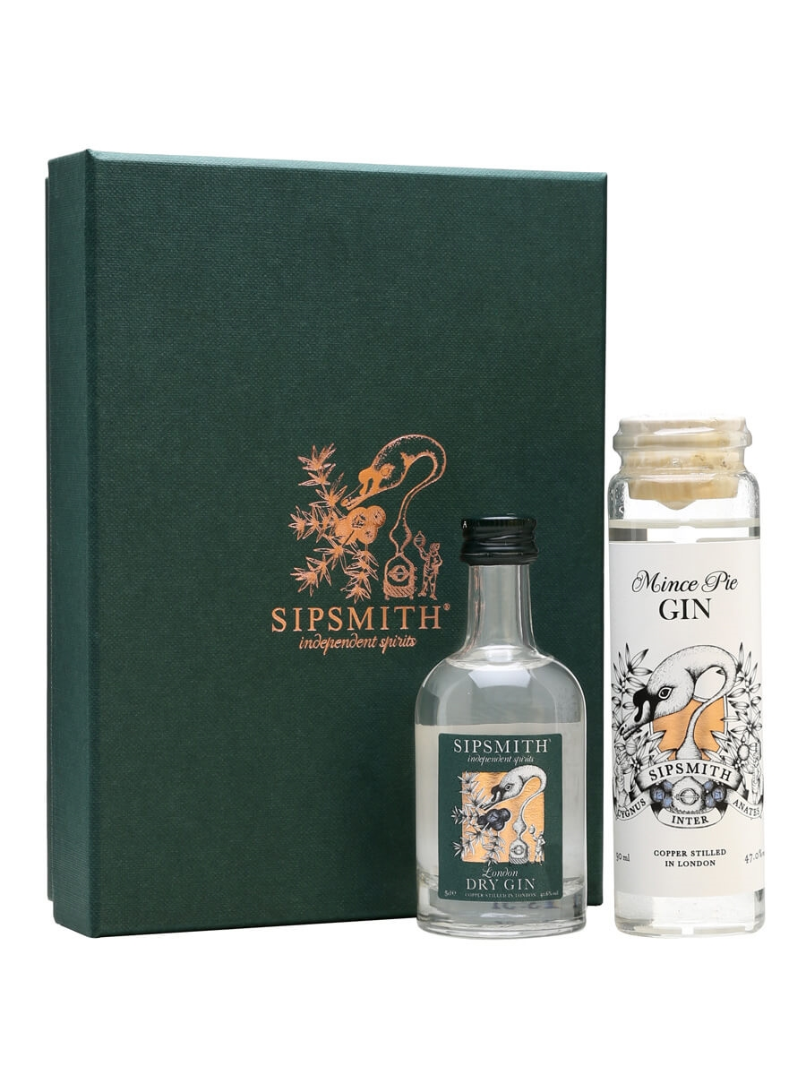Sipsmith Mince Pie Gin Gift Set