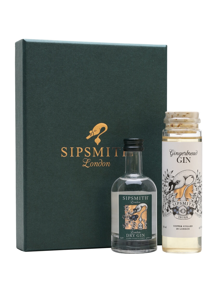 Sipsmith Gingerbread Gin Gift Set  The Whisky Exchange