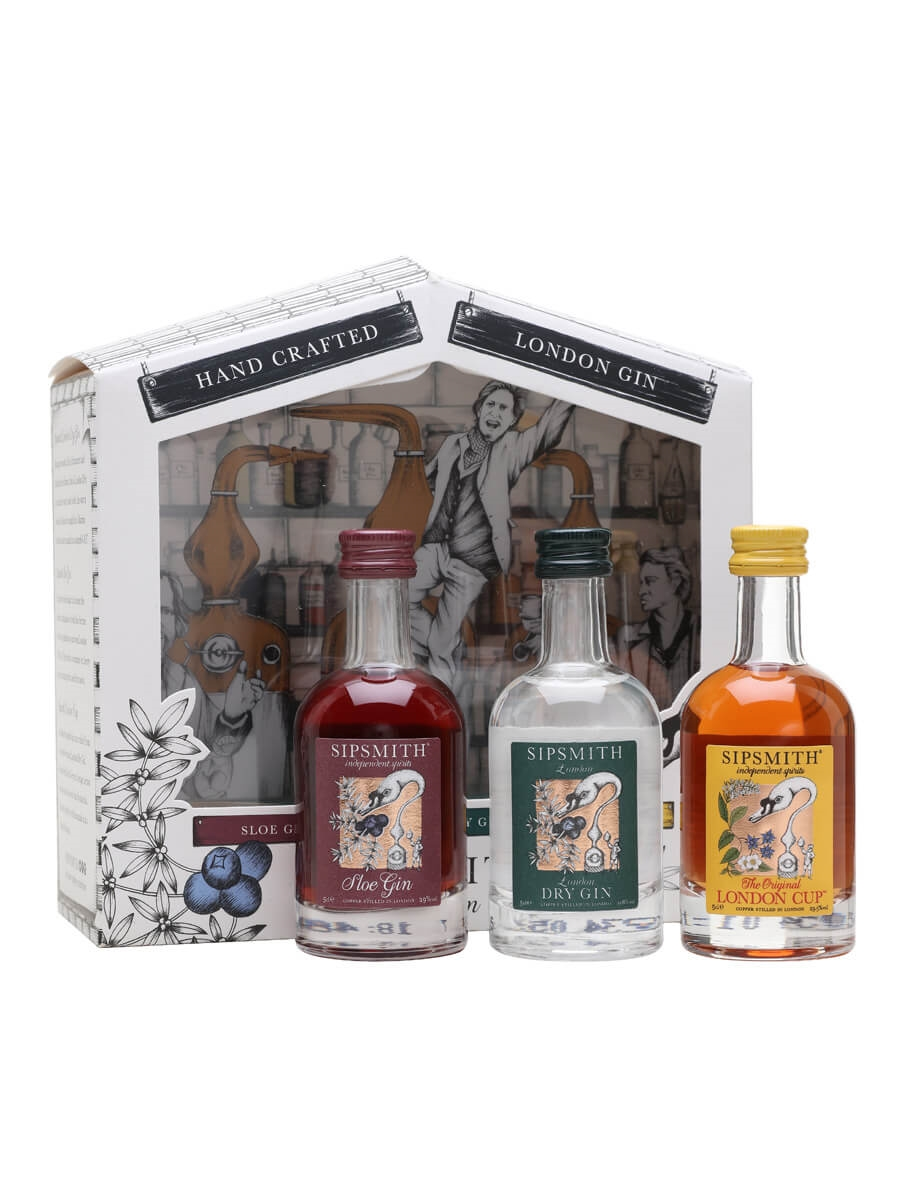 Sipsmith Distillery Miniature Pack / Gin, Sloe, London Cup