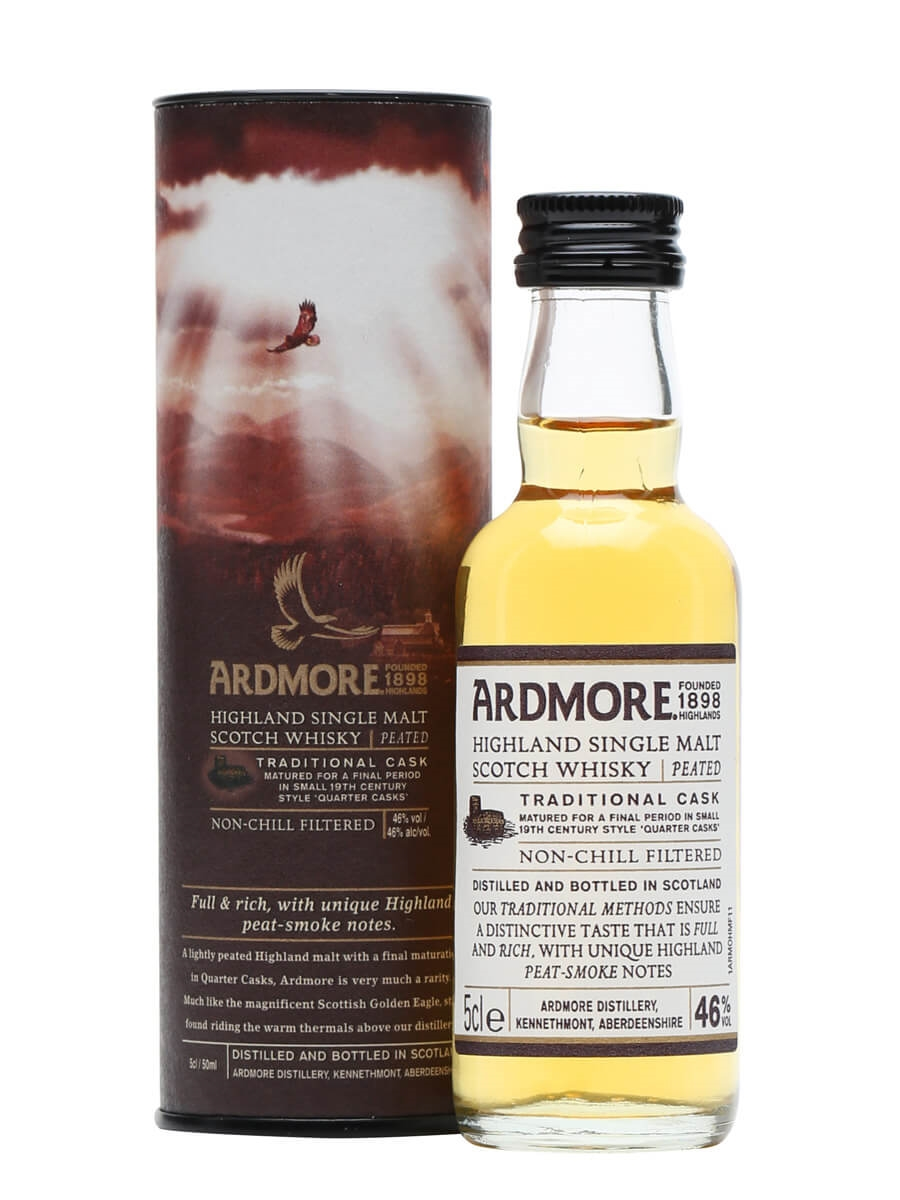 Ardmore Traditional Cask / Gift Boxed Miniature