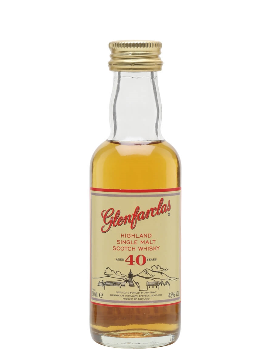 Glenfarclas 40 Year Old / Miniature