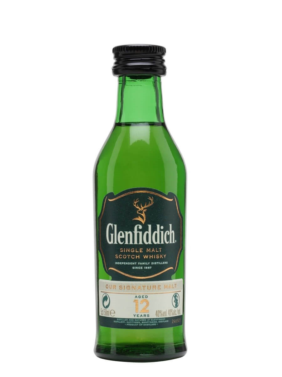 Glenfiddich 12 Year Old Miniature