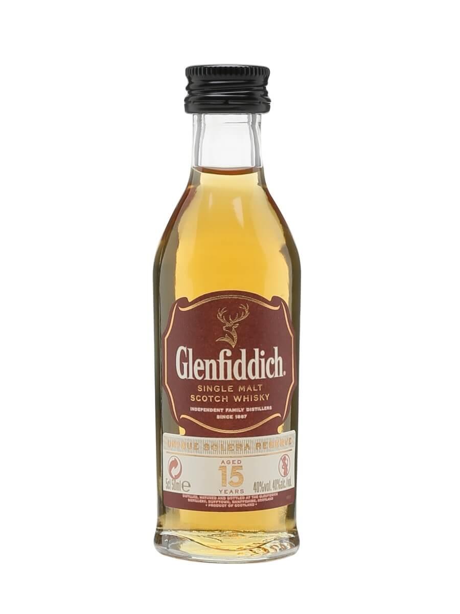 Glenfiddich 15 Year Old Miniature
