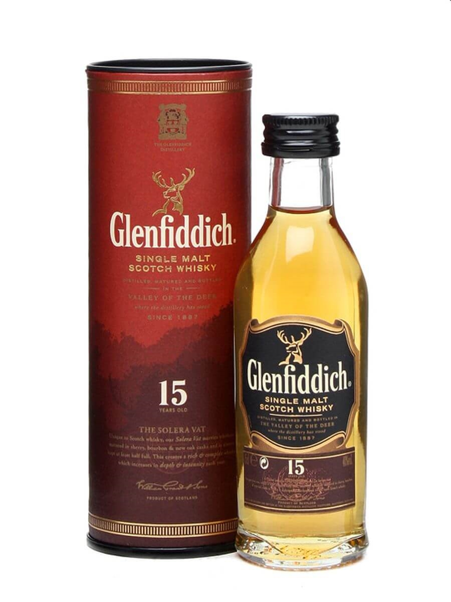 15 Year Old Male Modeling: Glenfiddich 15 Year Old Miniature : The Whisky Exchange
