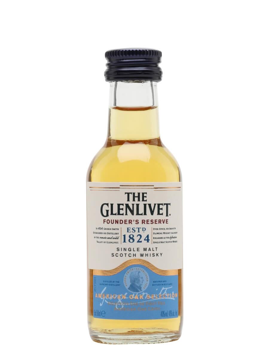 Glenlivet Founder's Reserve Miniature