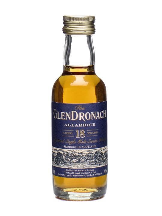 Glendronach 18 Year Old Allardice Miniature