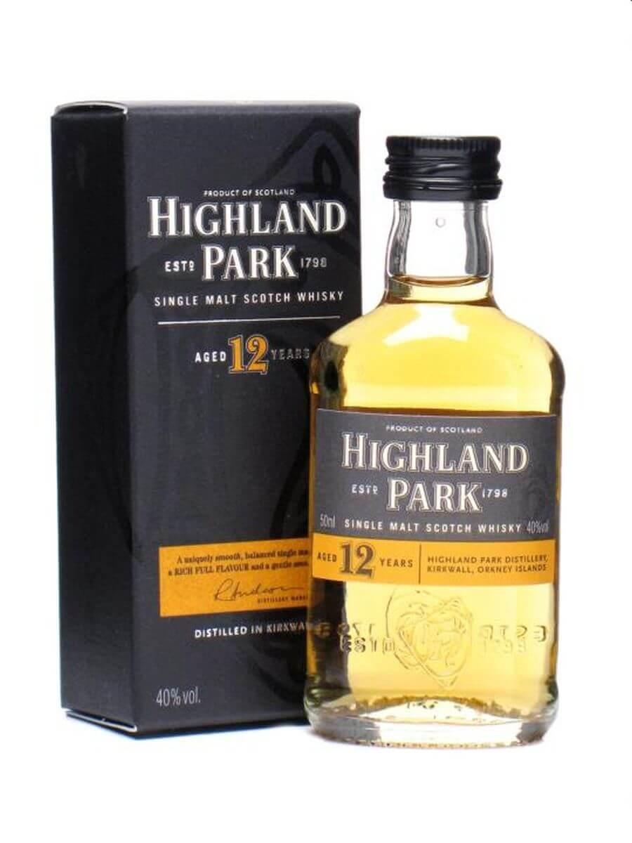 Highland Park 12 Year Old Miniature
