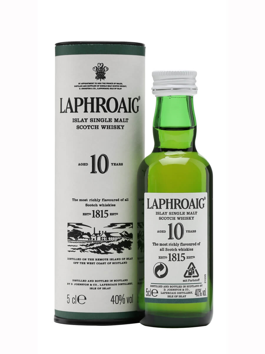Laphroaig 10 Year Old Miniature