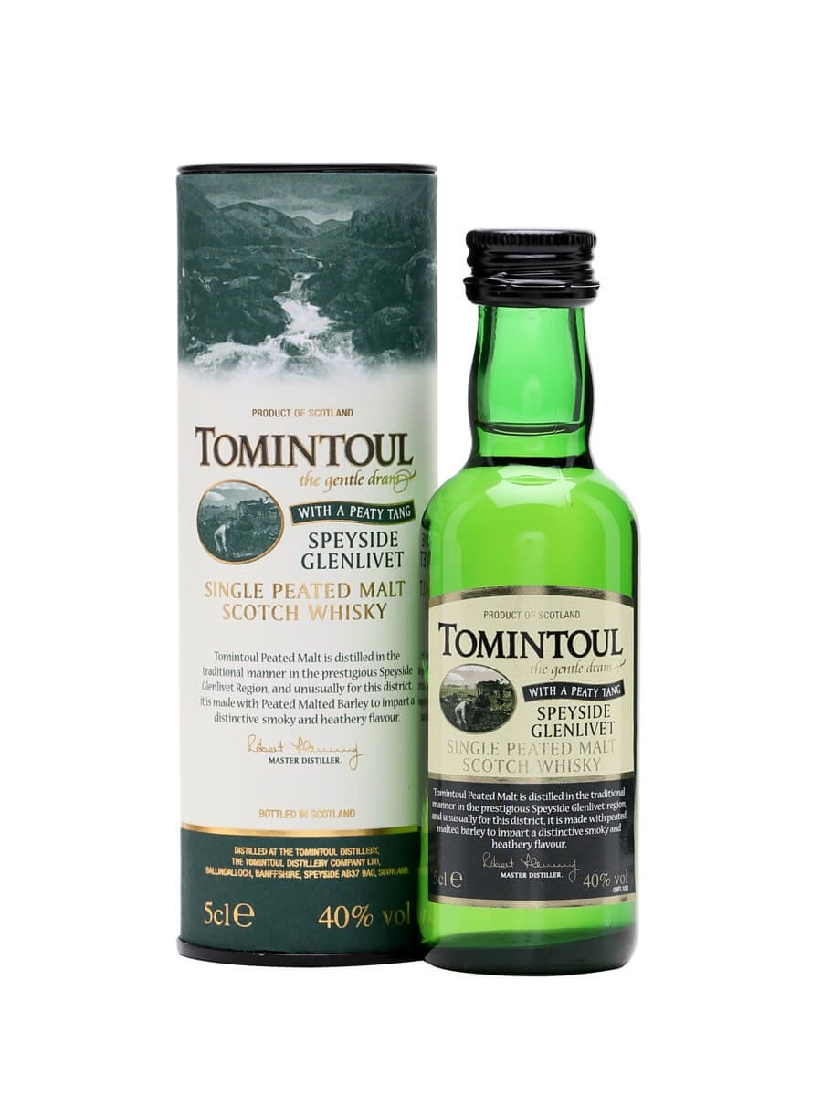 Tomintoul Peaty Tang Miniature