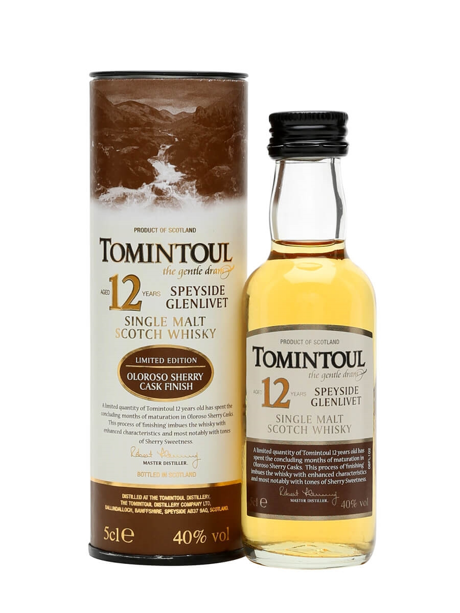 Tomintoul 12 Year Old / Oloroso Sherry
