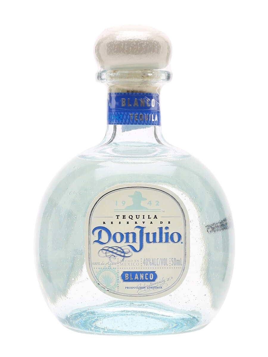 Don Julio Blanco Tequila Miniature : The Whisky Exchange