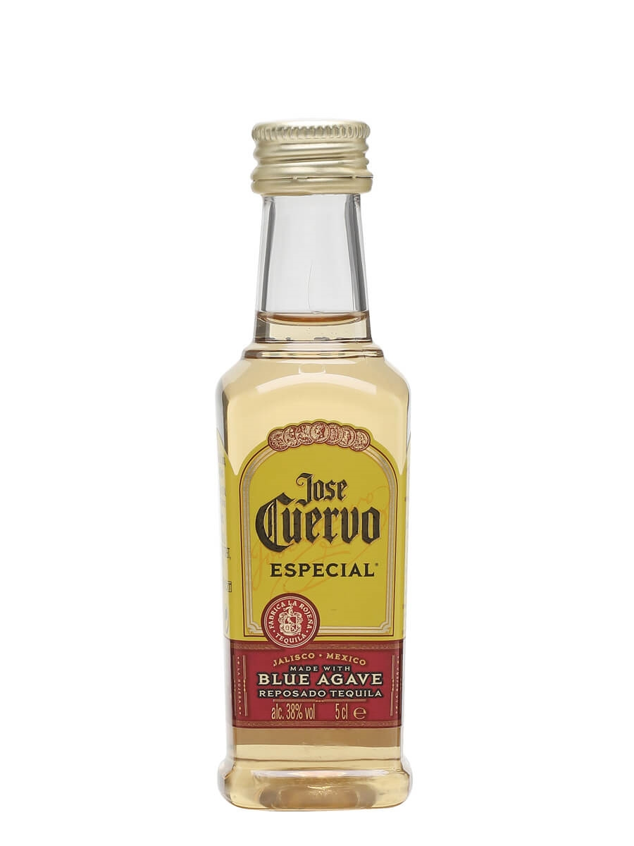 Jose Cuervo Especial Gold Tequila Miniature The Whisky