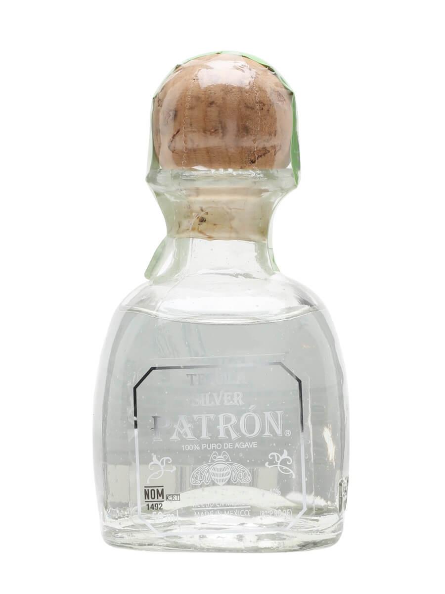 Patron Silver Tequila Miniature