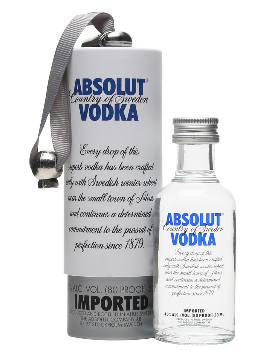 Absolut Blue Miniature Gift Box