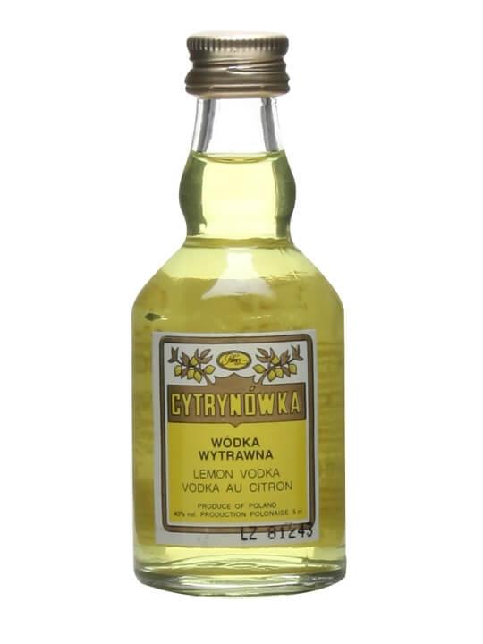 Cytrynowka Lemon Vodka Miniature