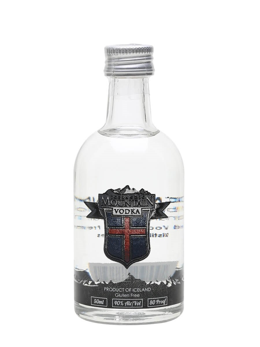 Icelandic Mountain Vodka / Miniature