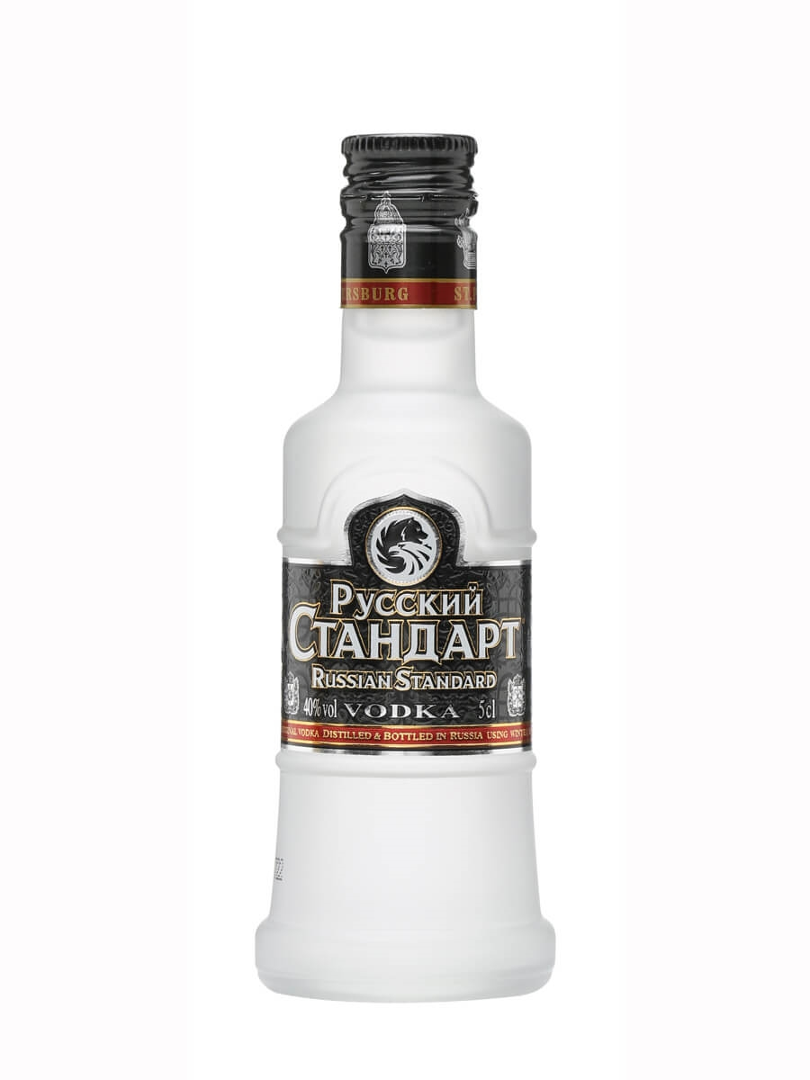 Russian Standard Vodka Miniature : The Whisky Exchange