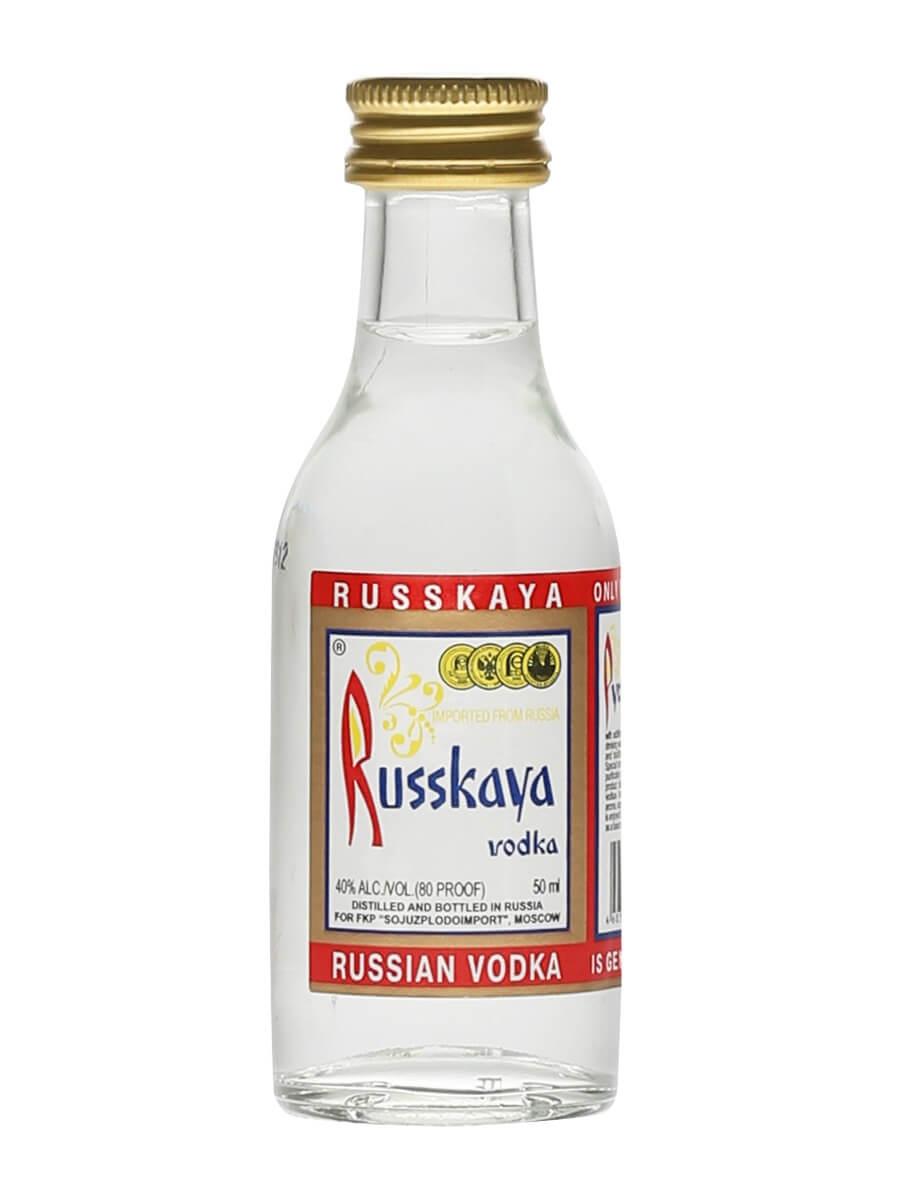 Russkaya Russian Vodka / Miniature
