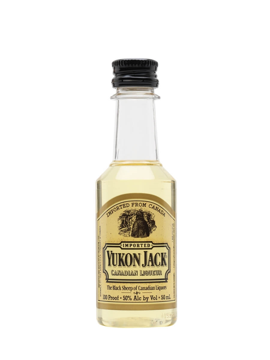 Yukon Jack Whisky Liqueur Miniature The Whisky Exchange