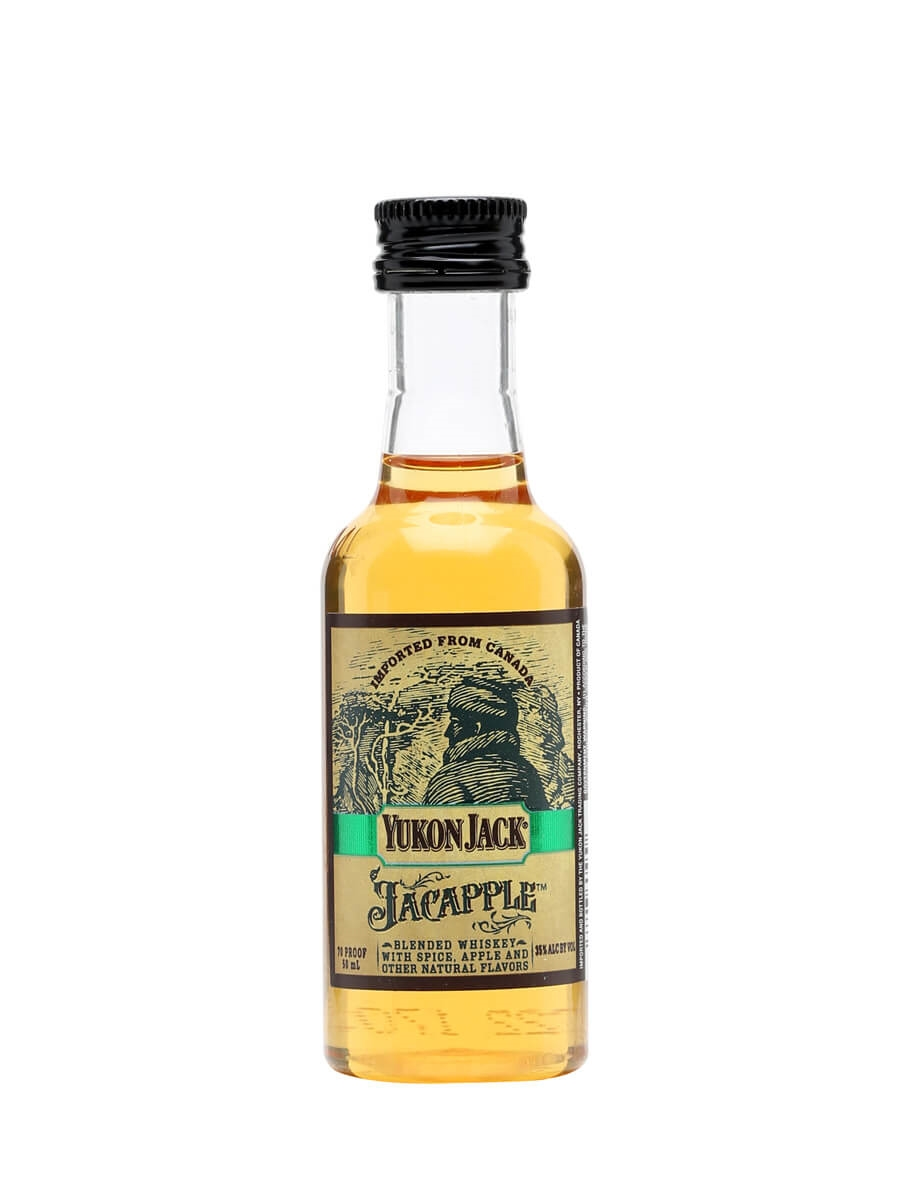 Yukon Jack Jacapple Whisky Liqueur Miniature The Whisky Exchange