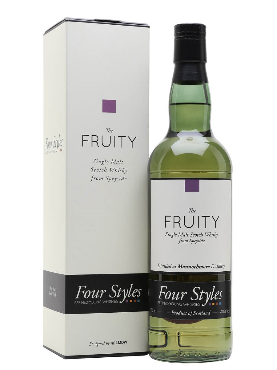 Mannochmore 2012 / The Fruity / Four Styles