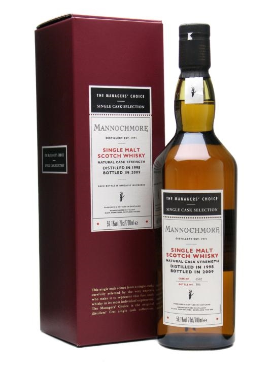 Mannochmore 1998 / Managers' Choice / Sherry Cask
