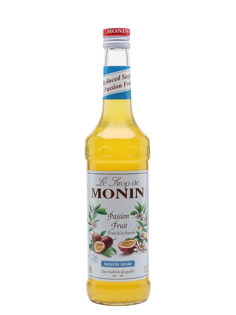 Monin Reduced Sugar Passion Fruit Syrup