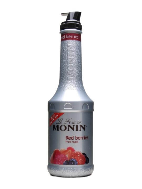 Monin Red Berries Puree Litre The Whisky Exchange
