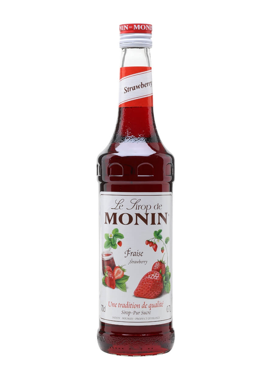 Monin Strawberry Syrup : The Whisky Exchange