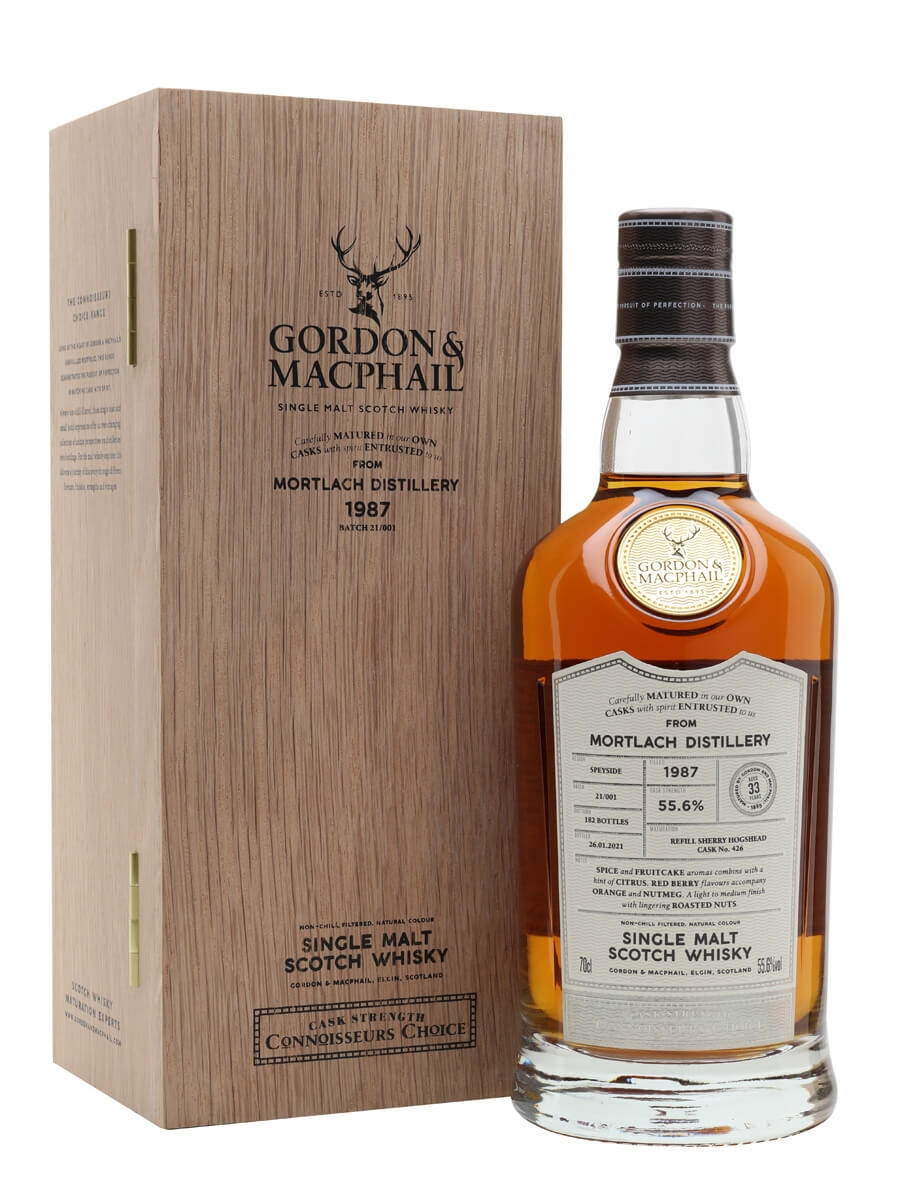 Mortlach 1987 / 33 Year Old / Connoisseurs Choice