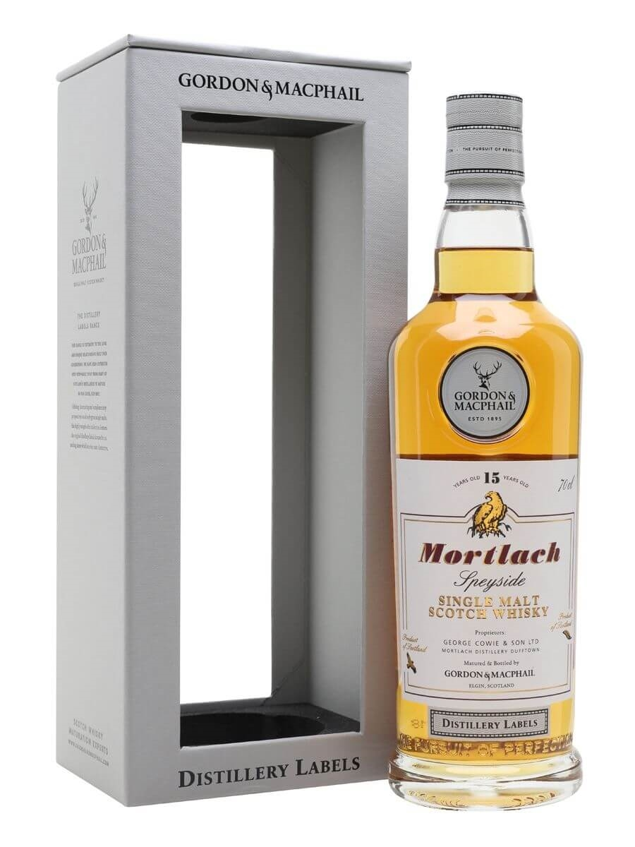 Mortlach 15 Year Old / G&M Distillery Labels