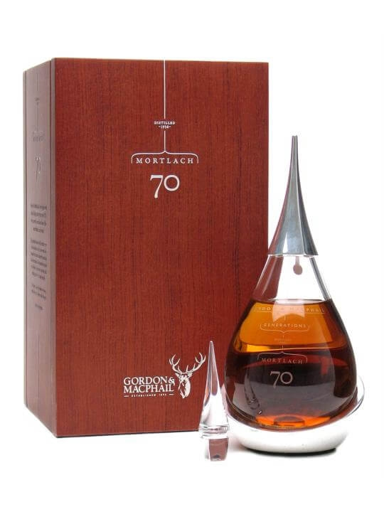 Mortlach 70 Year Old / 1938 / Crystal Decanter