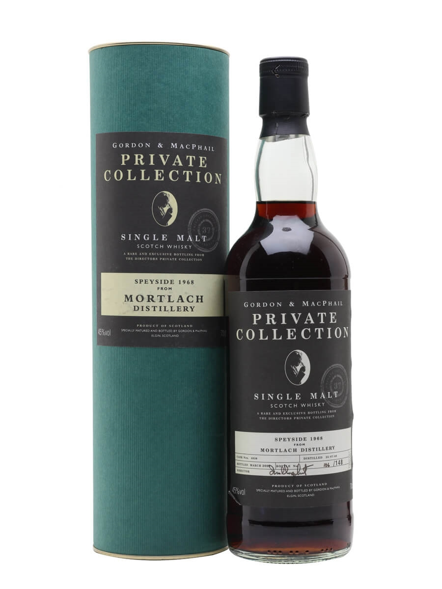 Mortlach 1968 / 37 Year Old / Private Collection / G&M
