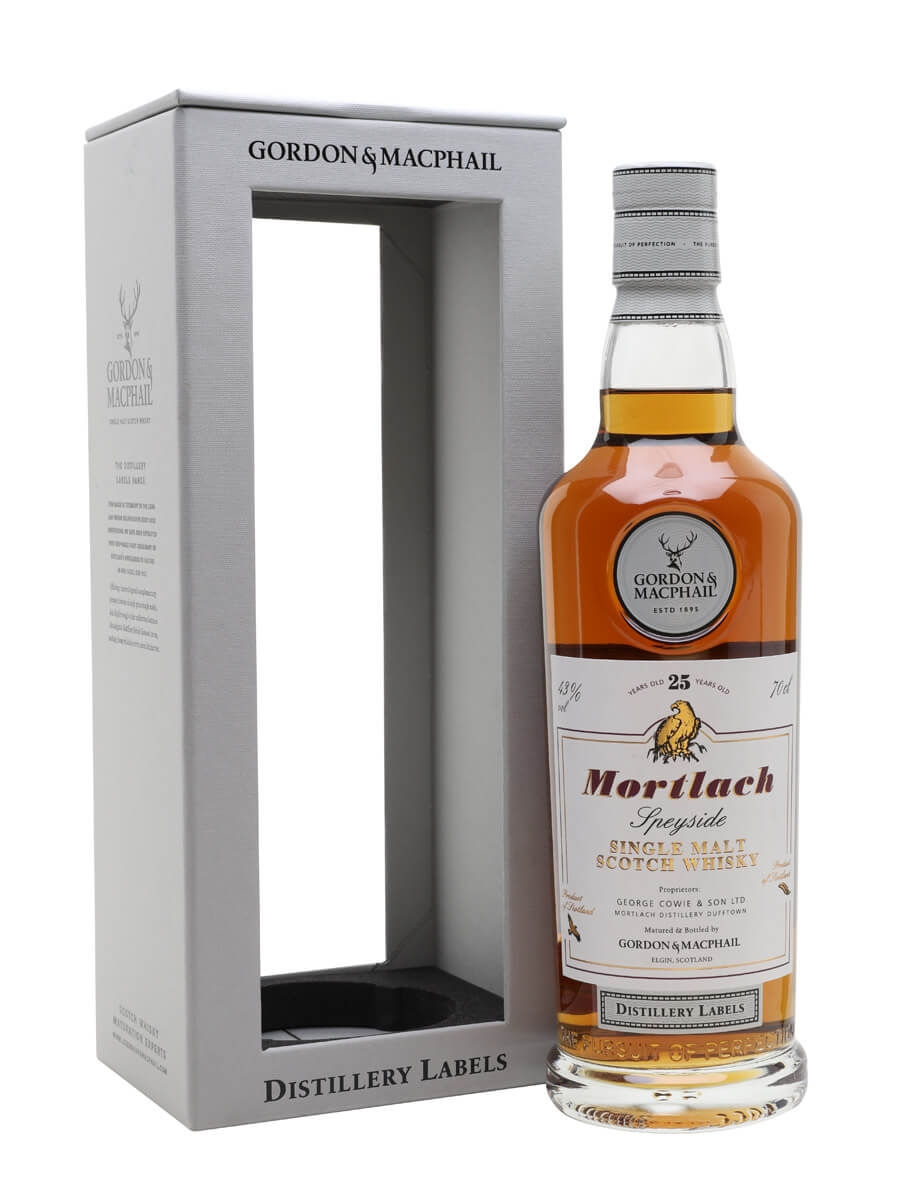 Mortlach 25 Year Old / G&M Distillery Labels