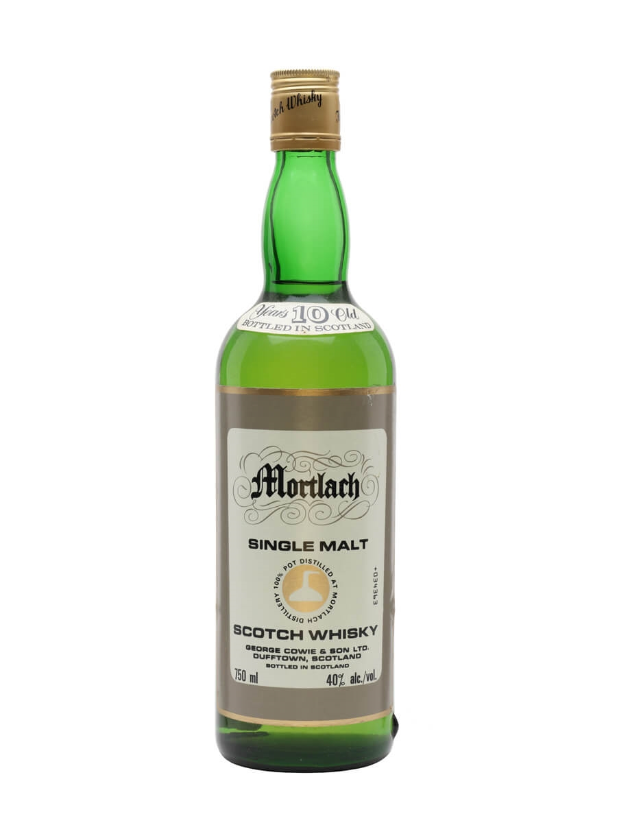 Mortlach 10 Year Old / Bot.1980s / George Cowie & Son