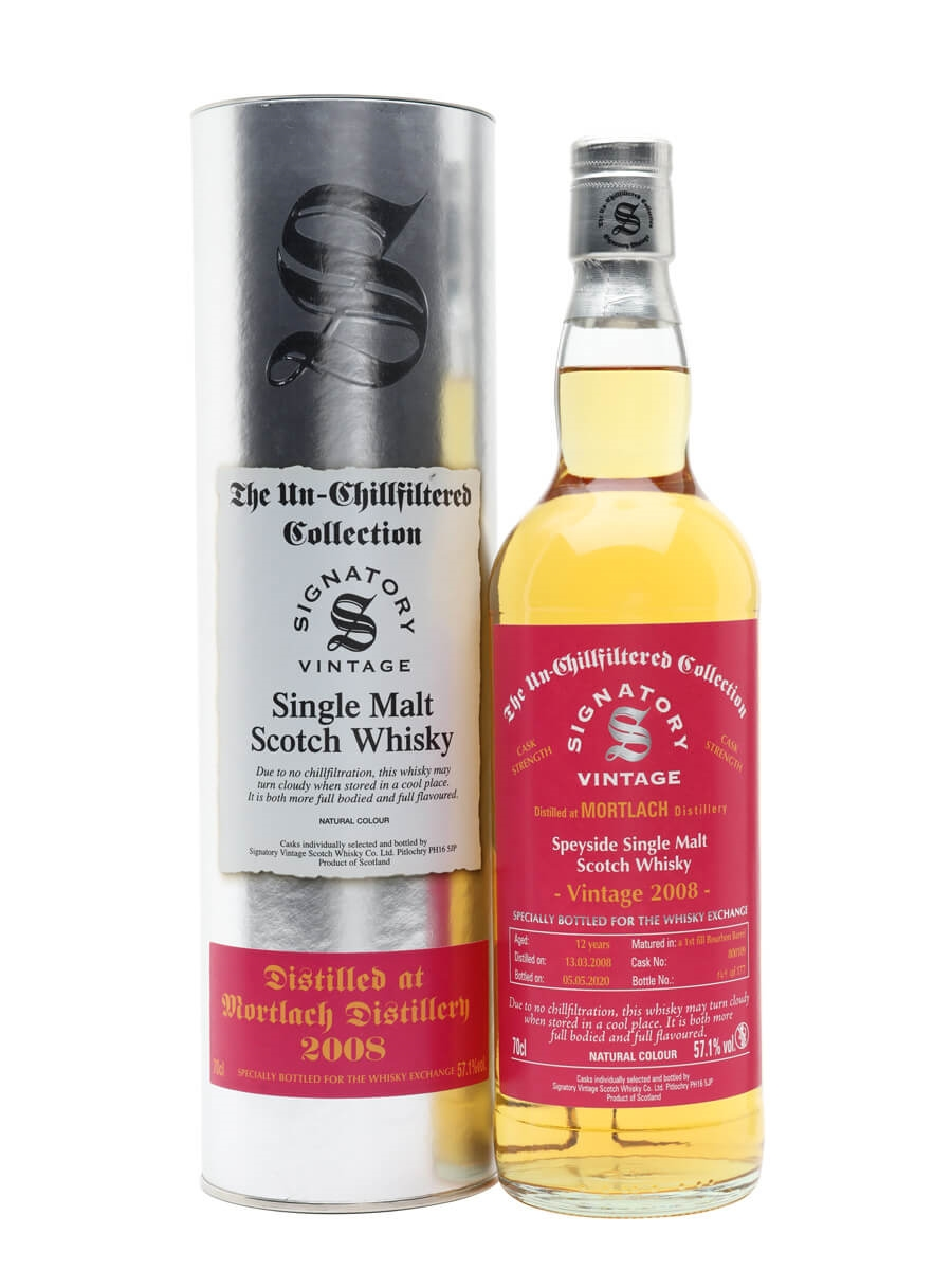 Mortlach 2008 / 12 Year Old / Signatory for TWE
