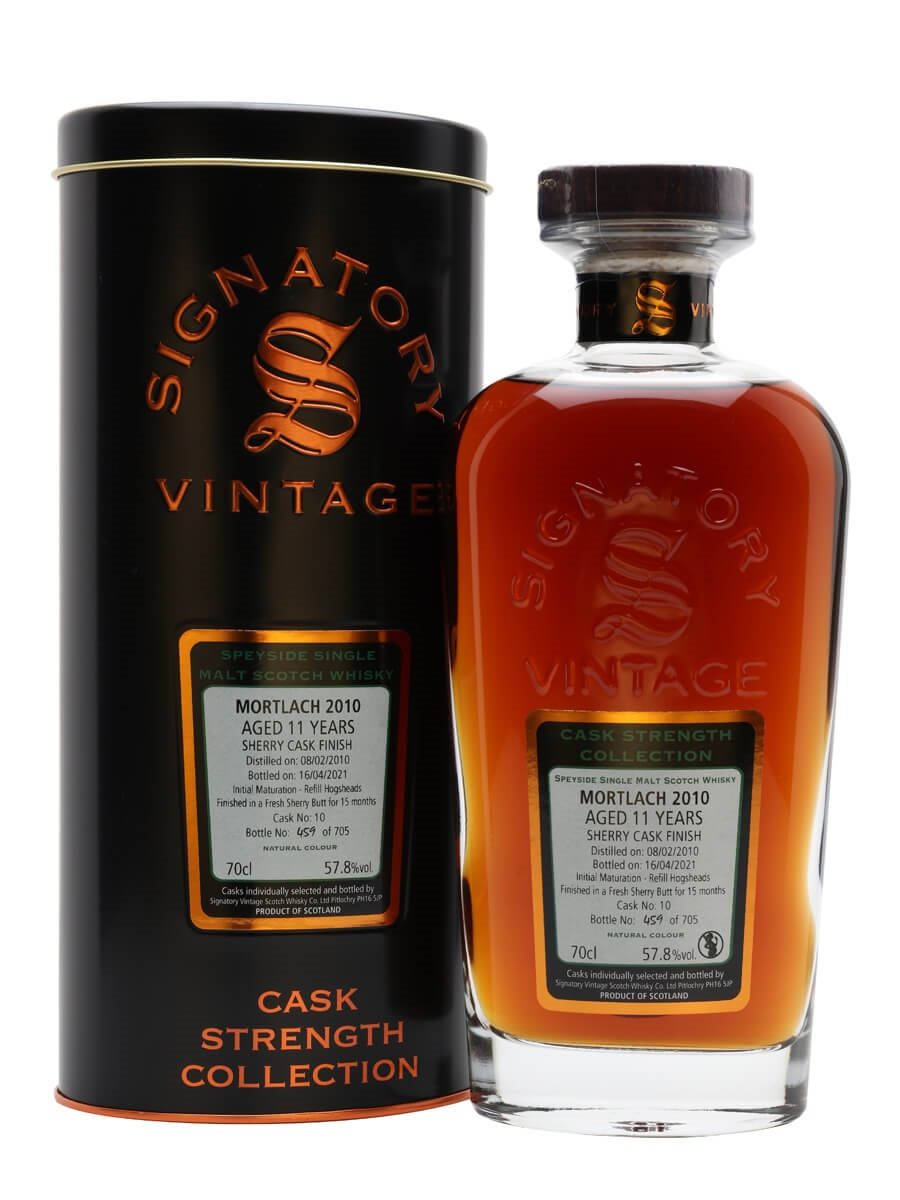 Mortlach 2010 / 11 Year Old / Sherry Cask / Signatory