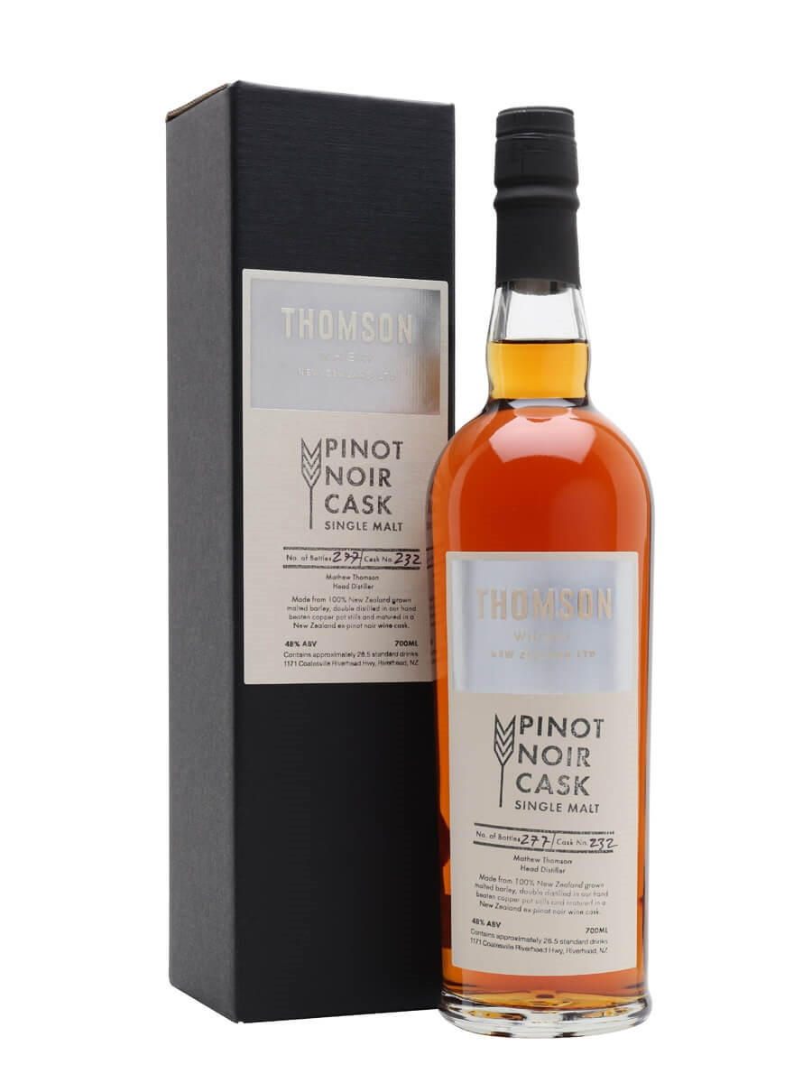 Thomson Whisky / Pinot Noir Cask / Exclusive To The Whisky Exchange