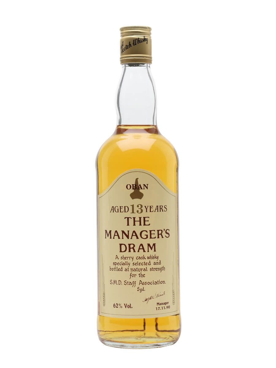 Oban 13 Year Old / Manager's Dram / Sherry Cask