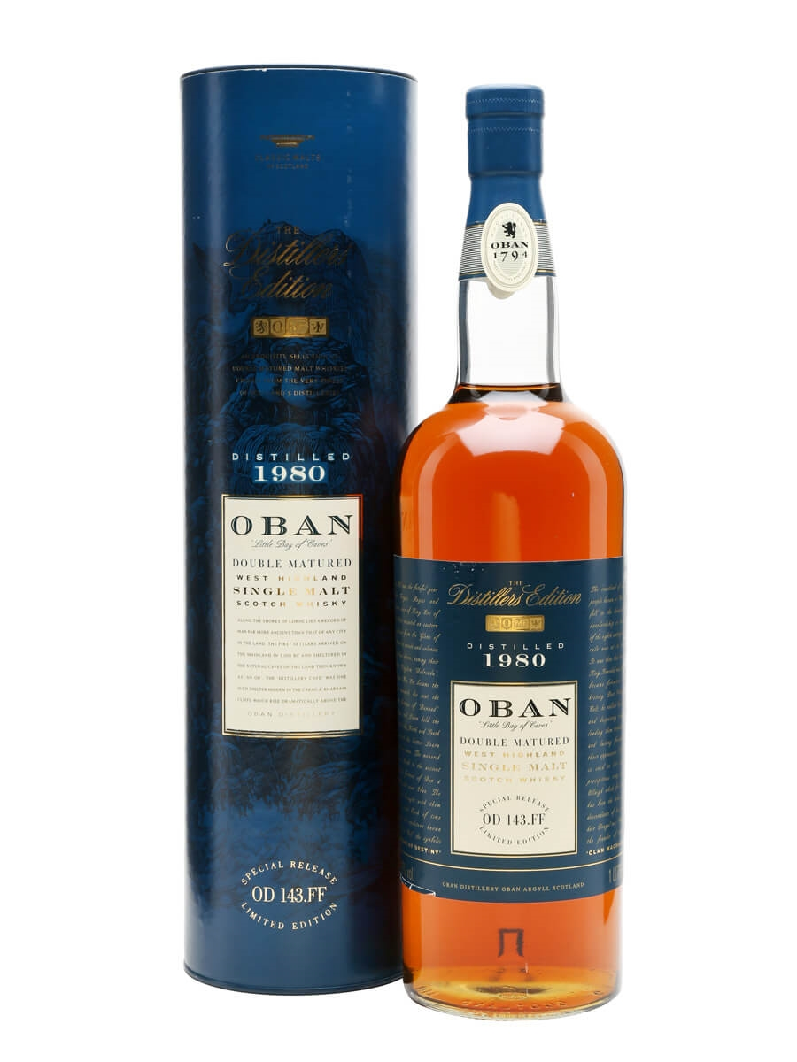 Oban 1980 / Distillers Edition / Litre Bottle