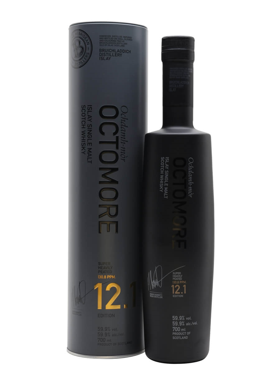 Octomore Edition 12.1 / 5 Year Old / The Impossible Equation