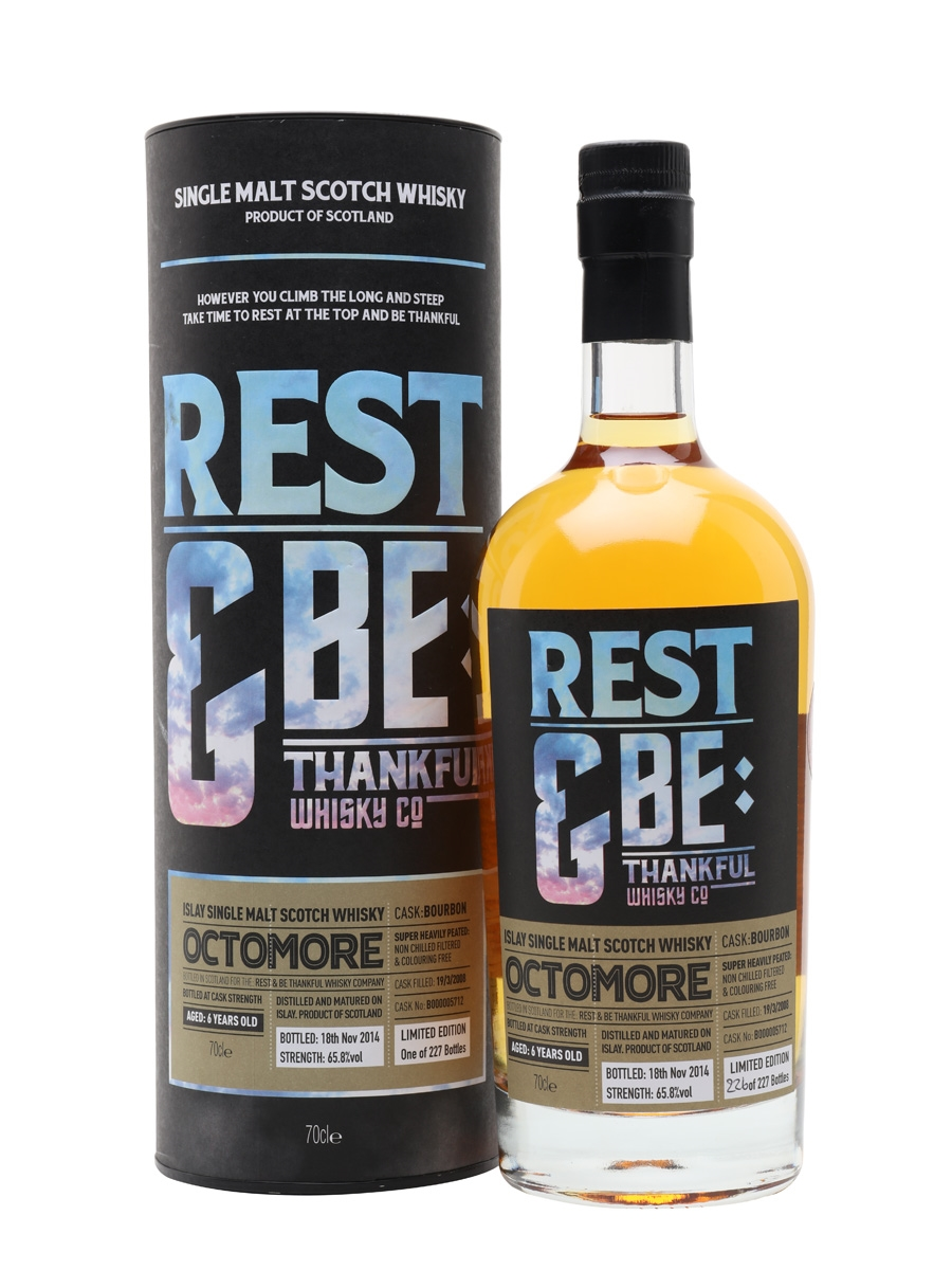 Octomore 2008 / 6 Year Old / Rest & Be Thankful