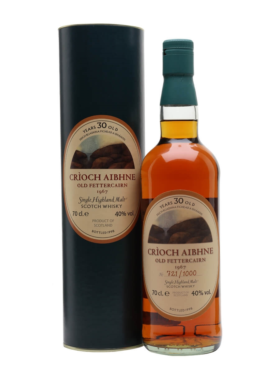 Old Fettercairn 1967 / 30 Year Old / Crioch Aibhne