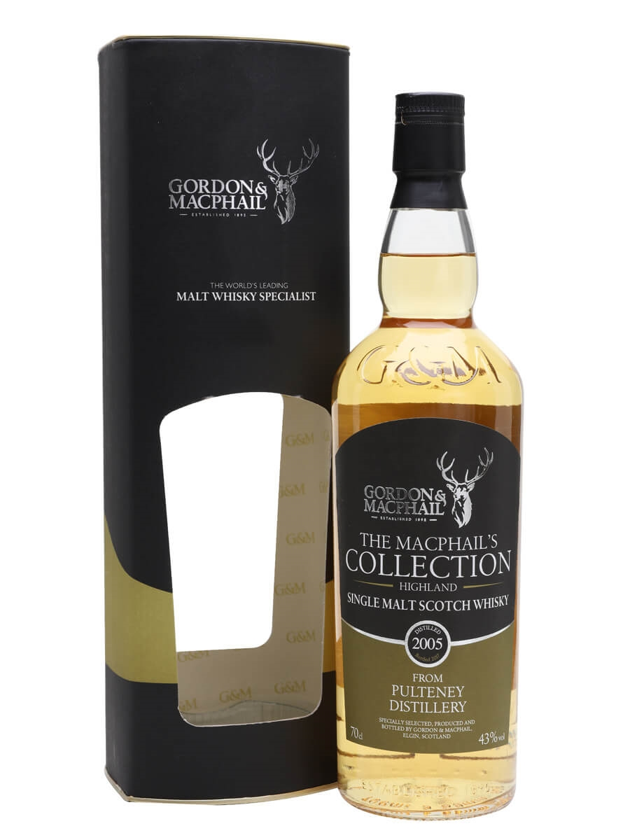 Pulteney 2005 / Bot.2017 / MacPhail's Collection