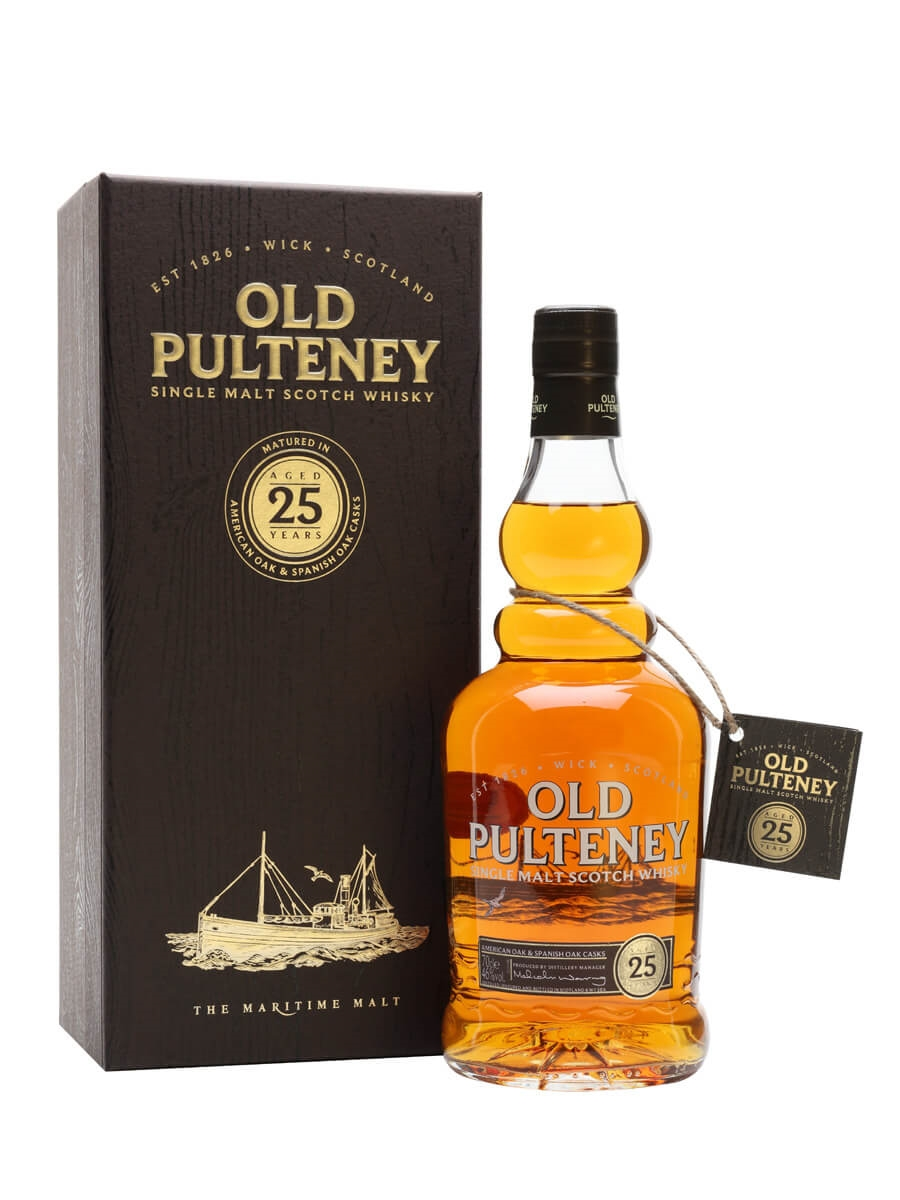 Old Pulteney 25 Year Old / 2019 Release